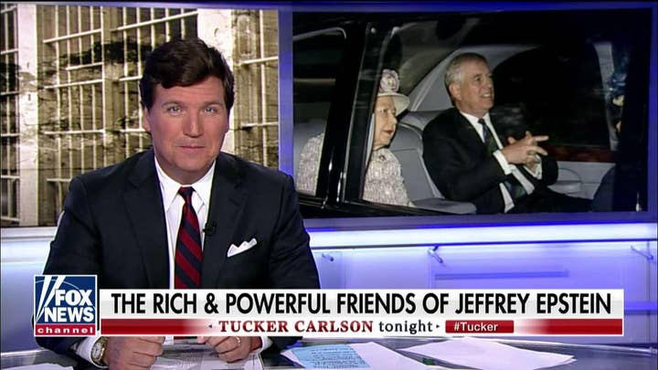 Tucker Carlson on Prince Andrew's interview