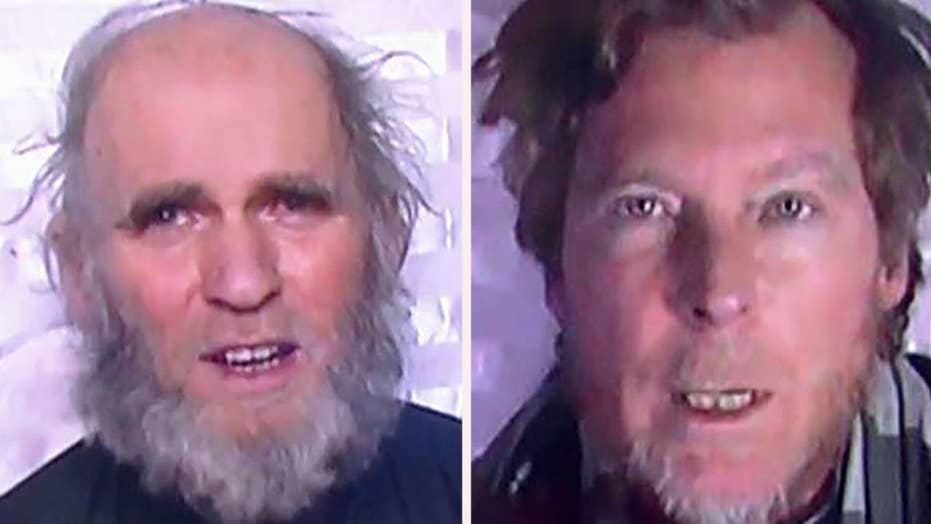 American, Australian hostages released by Taliban in prisoner swap