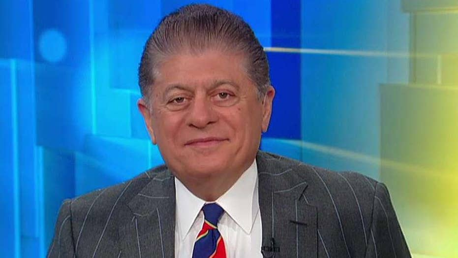 Judge Napolitano to Trump: Don't testify in impeachment probe, run away from this 'dangerous environment'
