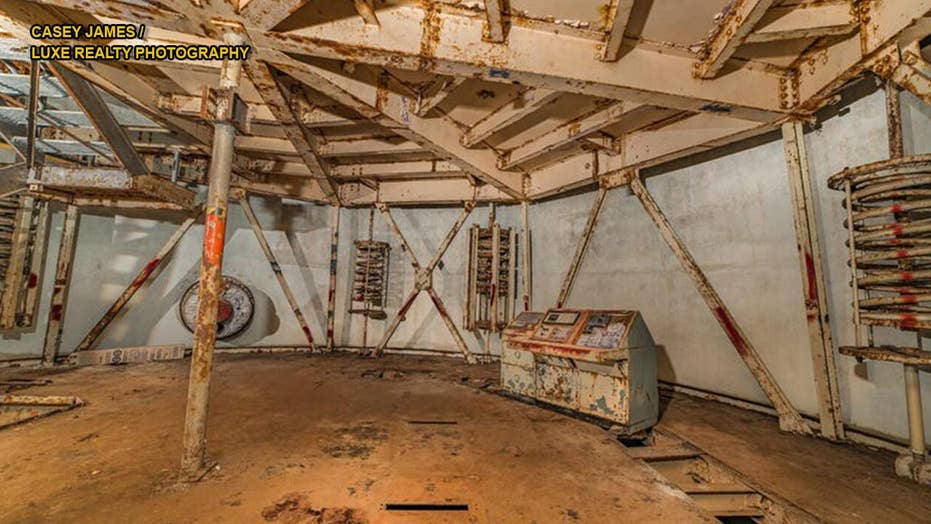Realtor gives inside look at the the Arizona nuclear missile silo for sale