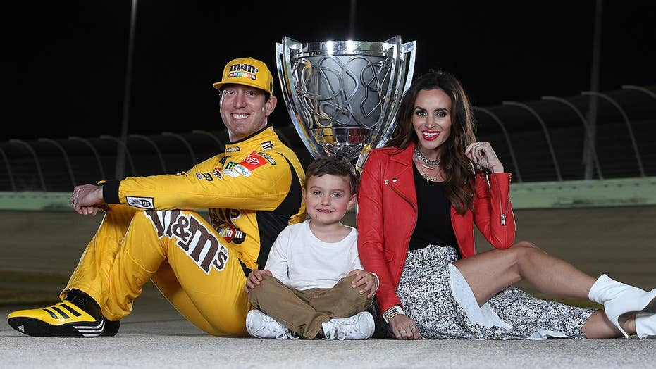 Two-time NASCAR Cup Series Champion Kyle Busch talks winning his second title