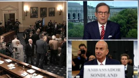 Chris Wallace: Sondland 'took out the bus' and ran over everybody