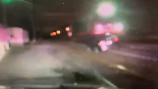 New Jersey train collides with car