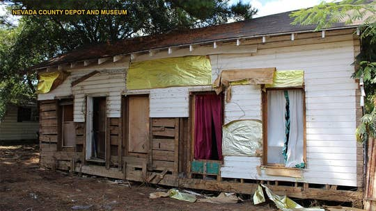 Civil War log cabin found inside house during demolition