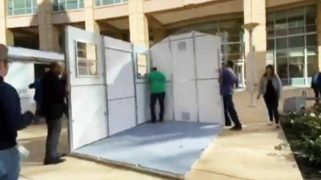Portable homeless shelters popping up in California