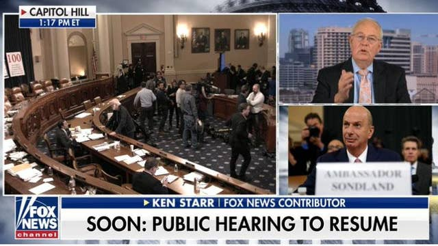 Ken Starr discloses Amb. Sondland's 'shocking omission'