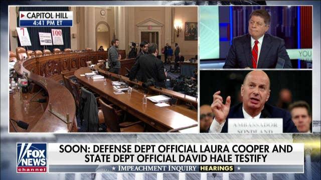 Judge Napolitano reacts to Gordon Sondland's testimony