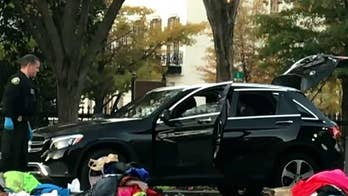 Secret Service stop 'unauthorized' SUV at the White House