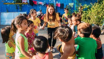 Philippines Christian woman shares testimony of hope to churches and the younger generation