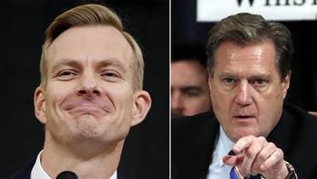 Holmes' claim that Sondland told Trump the Ukraine president 'loves your a--' sparks GOP lawmaker's rebuke