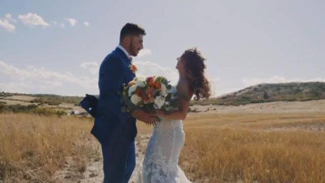 Colorado bride receives emotional surprise on wedding day