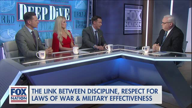 Fox Nation panel on military justice reform