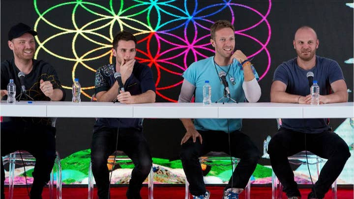Coldplay opts to stay off tour circuit for environmental concerns after releasing new album