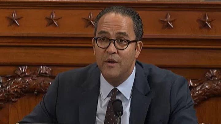 Rep. Hurd: 'I've not heard evidence the president committed bribery or extortion'