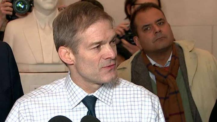 Rep. Jim Jordan: Impeachment inquiry is not good for our nation