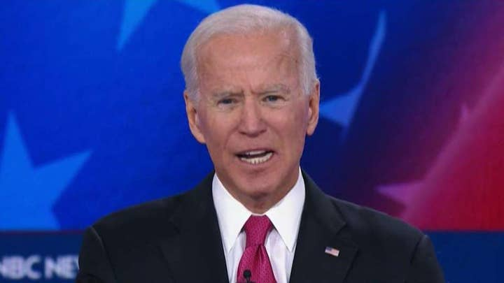 Joe Biden tries to keep focus on platform amid attacks from rivals, family paternity lawsuit