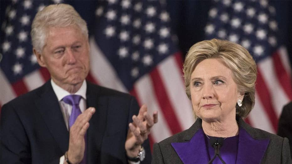 Schweizer: Clinton Foundation has raised only 10 percent of what it did in 2009