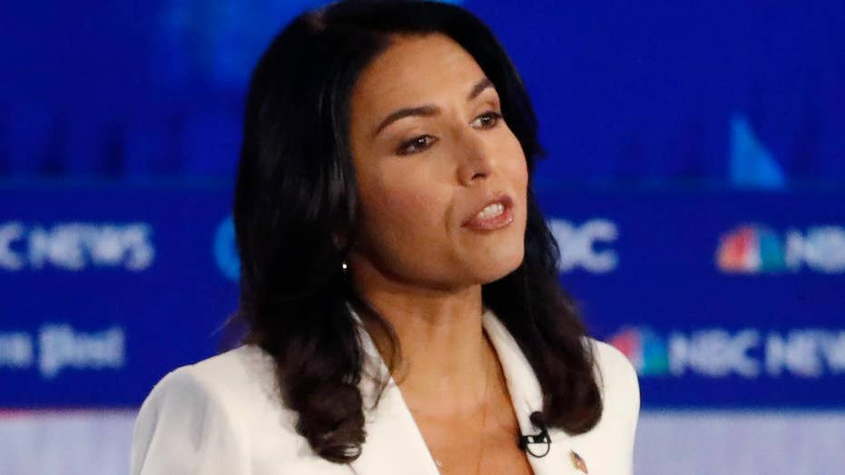 2020 hopeful Tulsi Gabbard bashes Democratic party in Atlanta