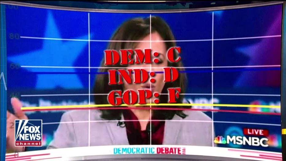 Pollster says Kamala Harris' attack on Tulsi Gabbard fell flat with voters