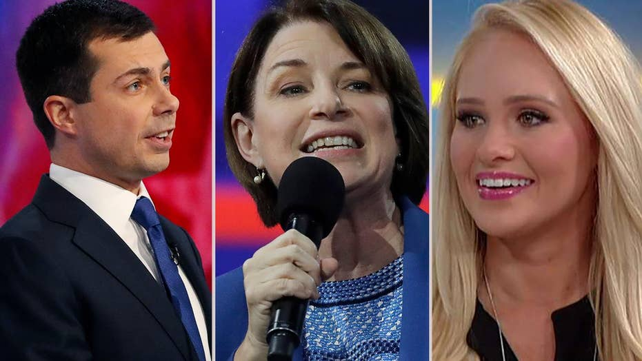 Tomi Lahren on Amy Klobuchar pulling the woman card on Pete Buttigieg