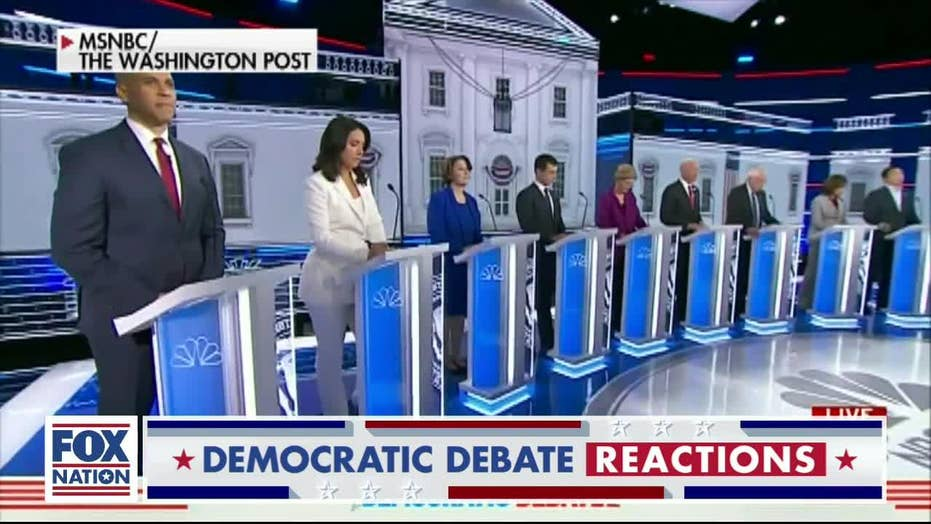 Tomi Lahren: What was 'more boring' impeachment hearings or Democratic debate?