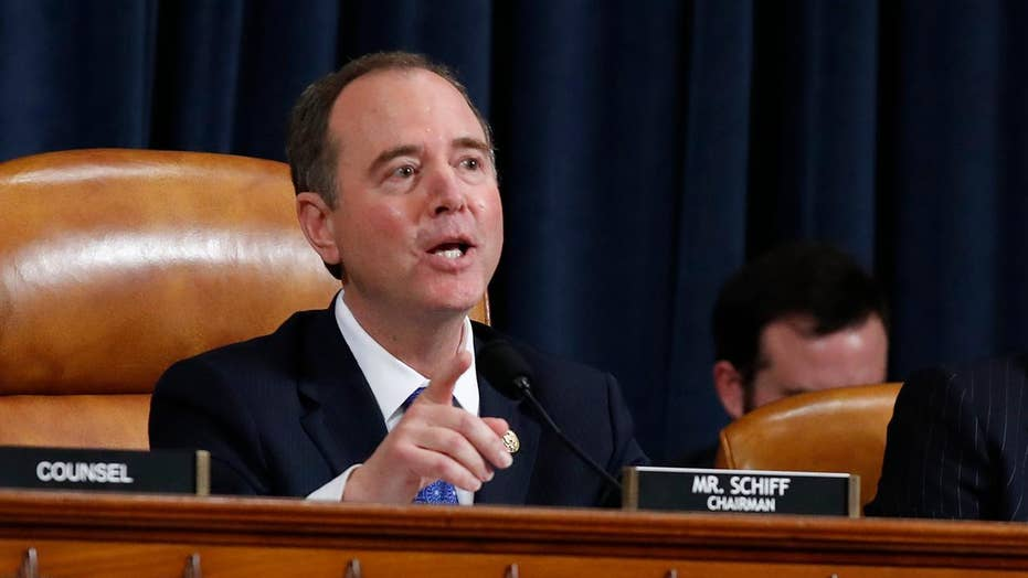 Adam Schiff calls out attacks, smears on impeachment witnesses