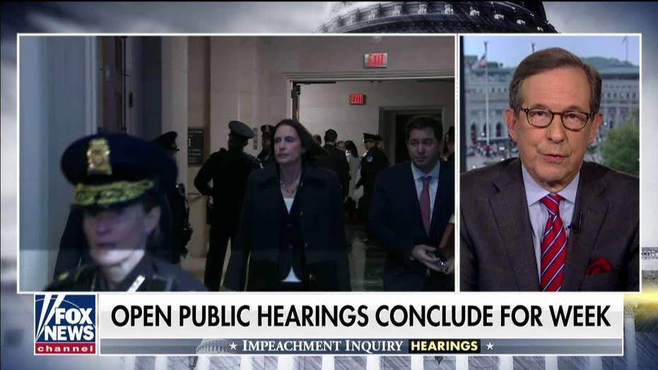 Chris Wallace: 'It was the Fiona Hill show today,' as ex-NSC aide gave compelling impeachment inquiry testimony