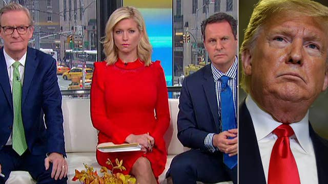 President Trump calls into 'Fox & Friends' after week of public impeachment hearings