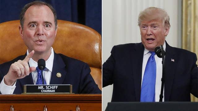 President Trump wants Rep. Adam Schiff, Ukraine whistleblower to testify in Senate impeachment trial