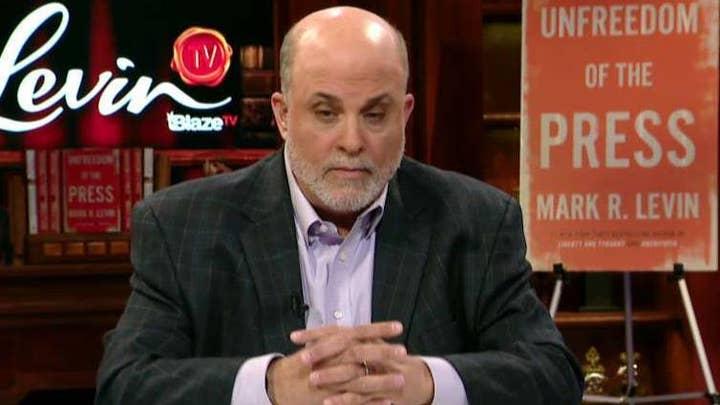 Levin: Polls for Trump going up amid Democrats' impeachment celebration