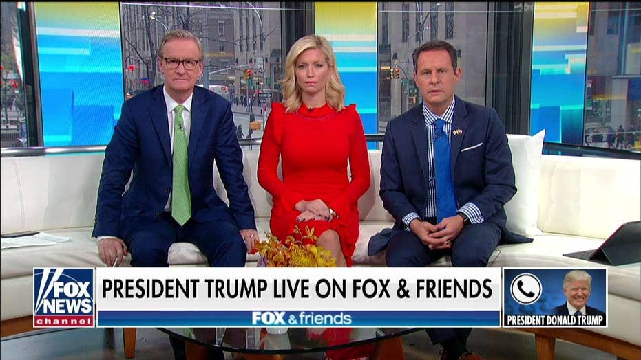 Trump asked on 'Fox & Friends' whether there was quid pro quo, extortion, bribery with Ukraine aid