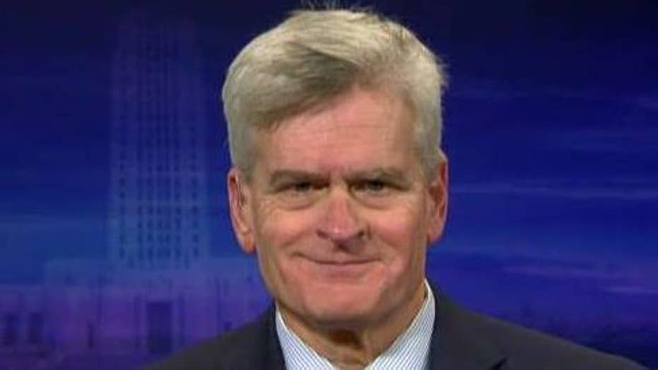 Sen. Bill Cassidy on calls for Congress to address growing national debt amid focus on impeachment inquiry