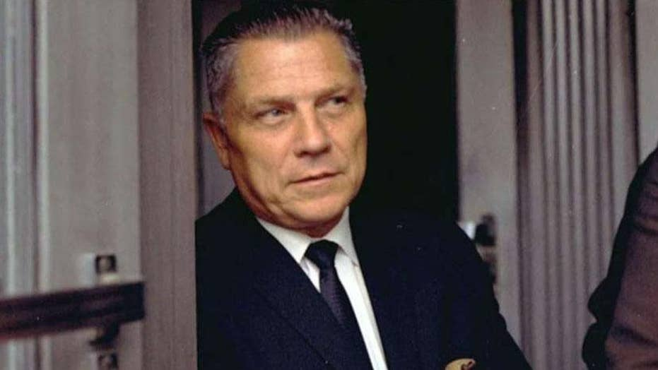 Eric Shawn: Jimmy Hoffa... In New Jersey, say multiple claims