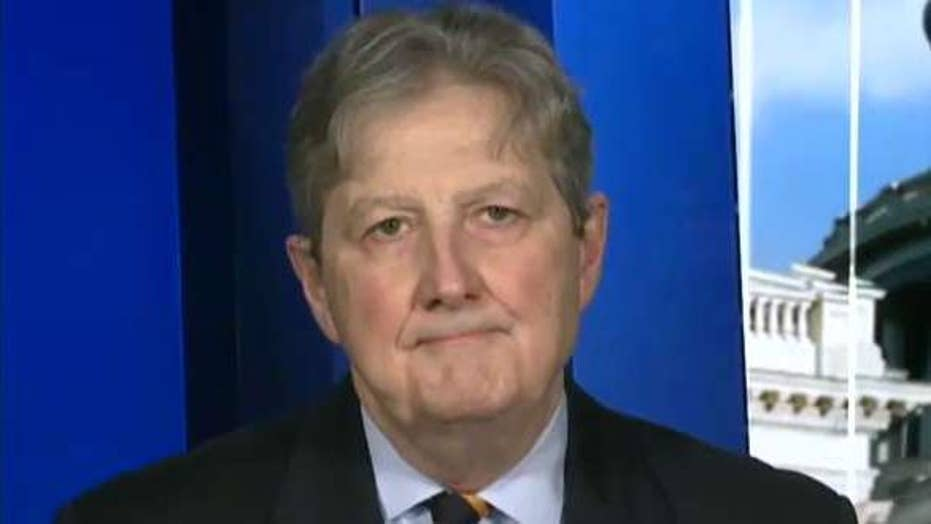Sen. John Kennedy on upcoming FISA report, potential impeachment trial in the Senate