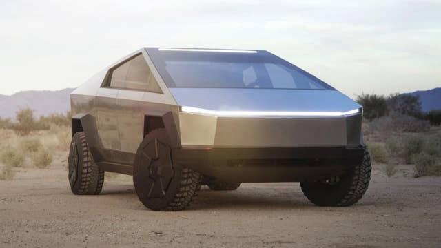 Funky features on Tesla's Cybertruck