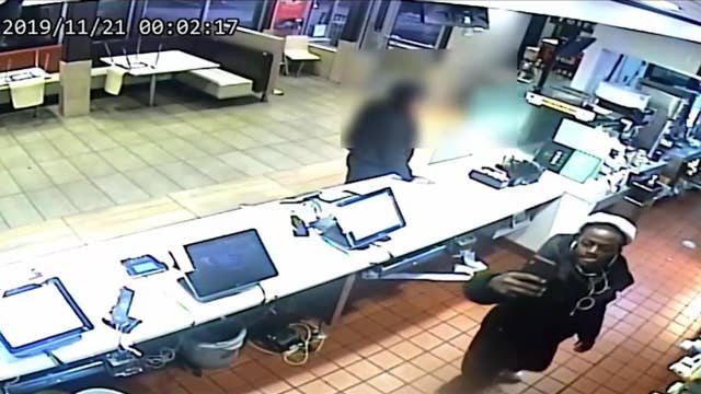 McDonald's employee assaulted with mop bucket, released footage shows