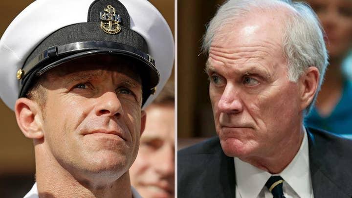 Navy secretary resigns over Eddie Gallagher war crimes case