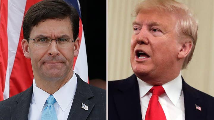 Defense Secretary Mark Esper says President Trump ordered him to stop disciplinary process for Navy SEAL
