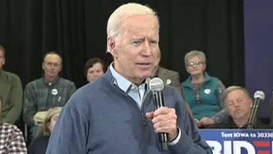 Joe Biden hints at potential female running mates