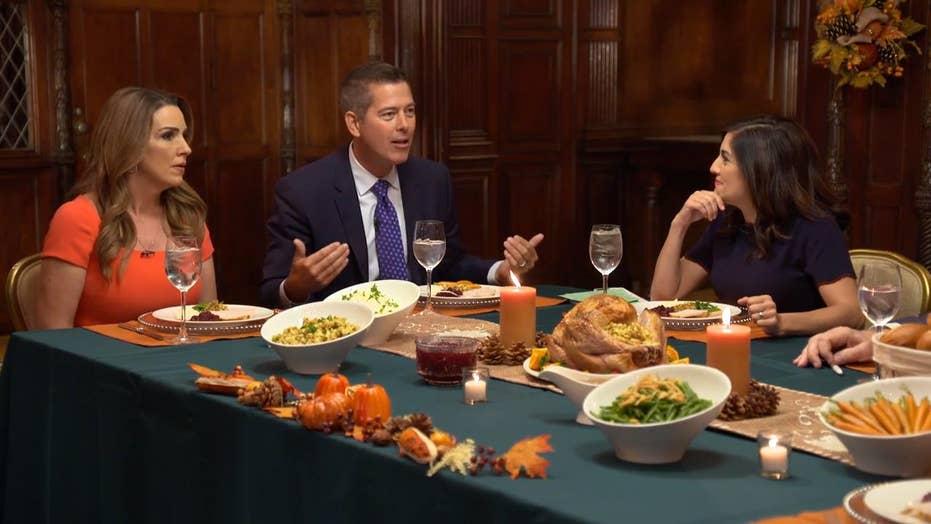 Sean Duffy: Don't ban political conversations at Thanksgiving Dinner