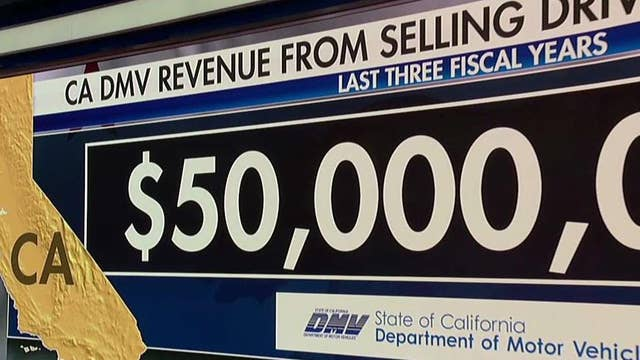 California DMV making big money selling drivers' personal information, study finds