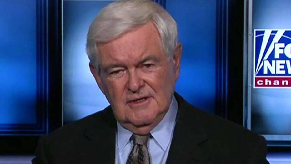 Newt Gingrich talks Gallagher case, impeachment inquiry, Bloomberg and Thanksgiving