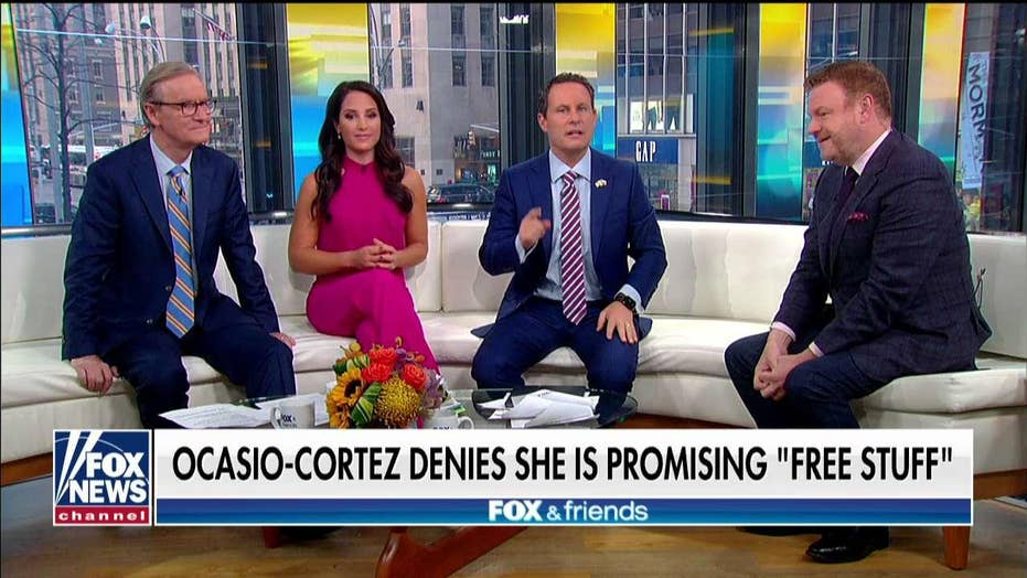 AOC says she never wants to hear the term 'free stuff' ever again