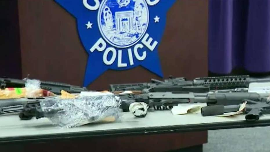 Chicago police announce 10,000 guns have been taken off the streets in 2019