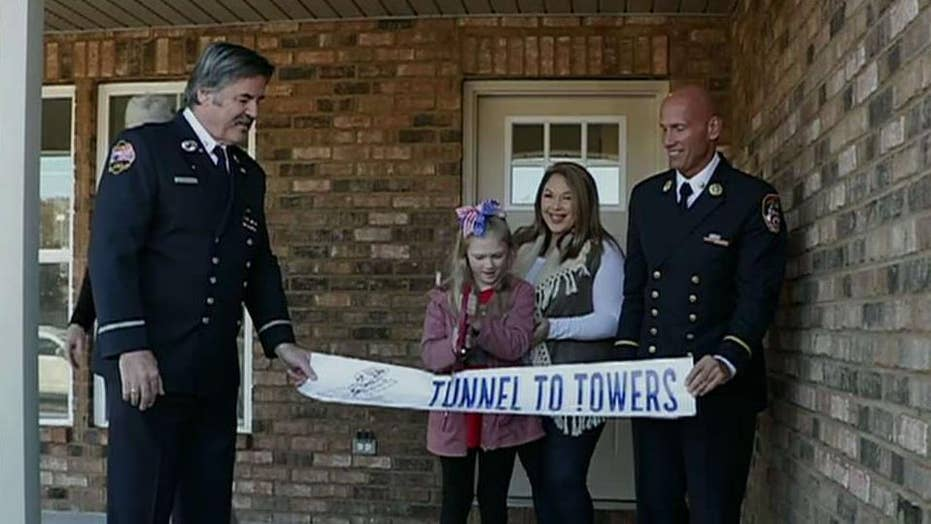 Gold Star family gifted new home just in time for Thanksgiving