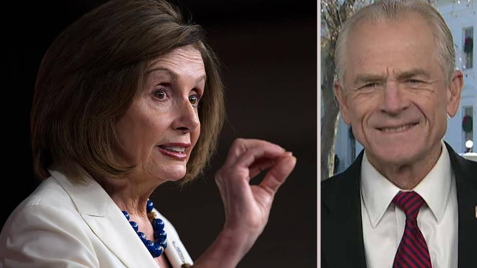 Peter Navarro urges Nancy Pelosi to pass USMCA
