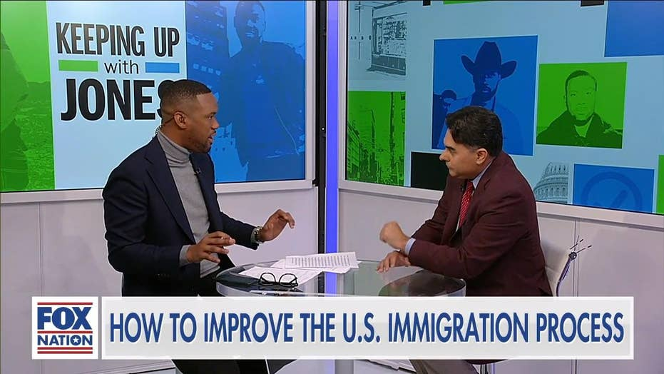 Lawrence Jones takes on 'open borders' professor: 'There is a concerted effort to usurp the system'