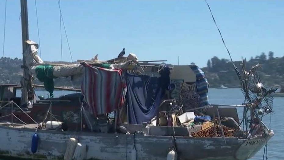 Californians live on water as housing prices rise