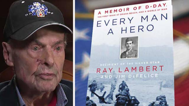 D-Day survivor Ray Lambert reflects on the infamous invasion
