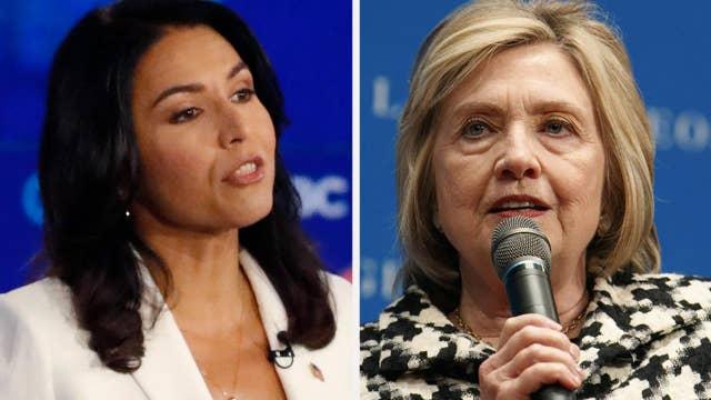 Tulsi Gabbard reignites Hillary Clinton feud over 'Russian asset' remark